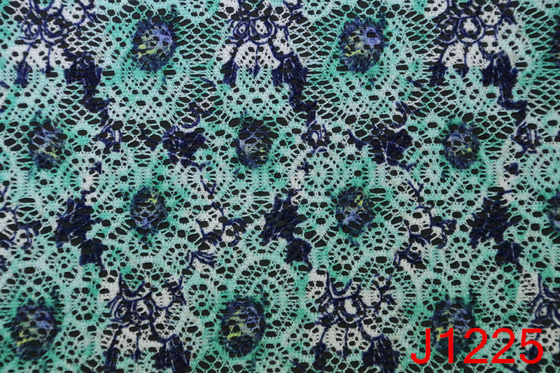 Best price of lace fabric embroidered with beads manufactured in China