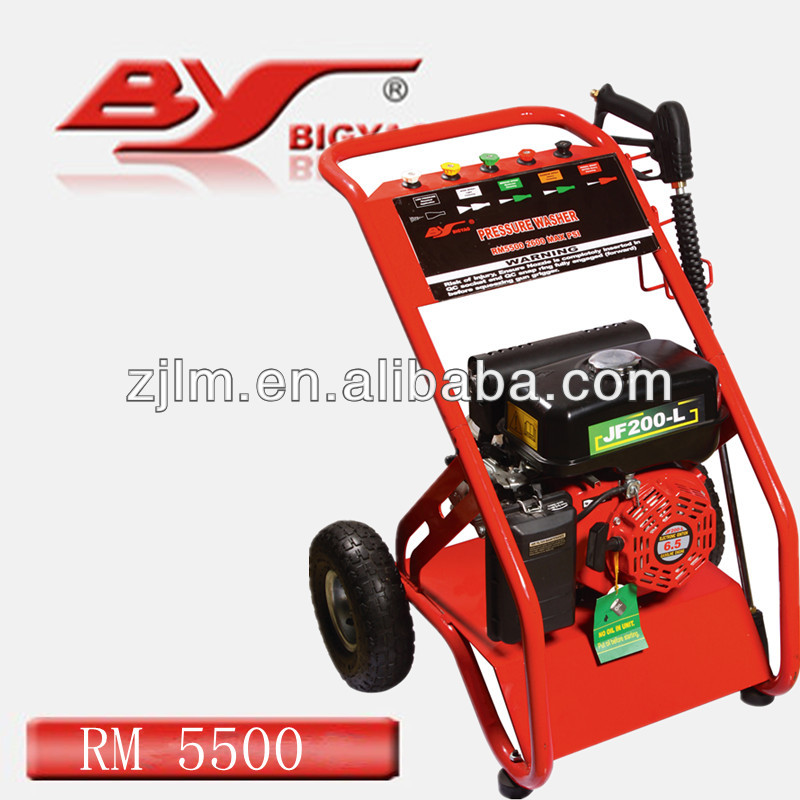 Unleaded Gasoline High Pressure Washer For Garden Cleaning