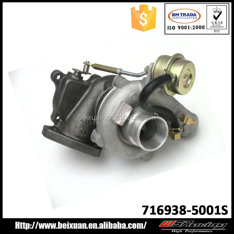 GT1749S Turbo for Hyundai H-1 Starex 2001 turbocharger 716938-5001S