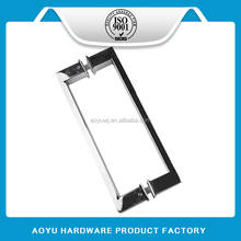Whosesale price stainless steel square pull door handle