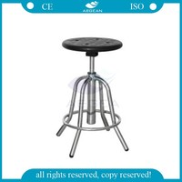 AG-NS002 patient chair medical stainless steel hospital adjust stool