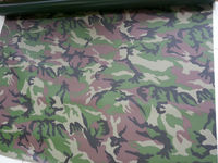 Pvc Coated Fabric (Camoflage) For Inflatable Boat