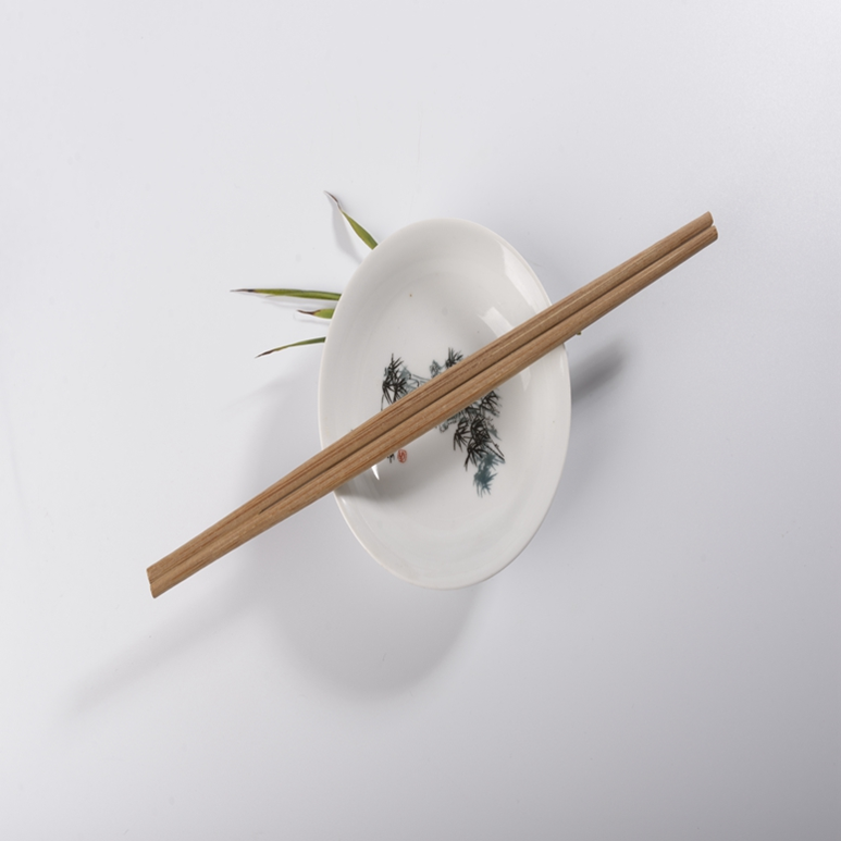 carbon chopsticks, with paper 5.0 thickness 18cm white paper wrapped AB, A grade color type tensoge disposable bamboo chopsticks