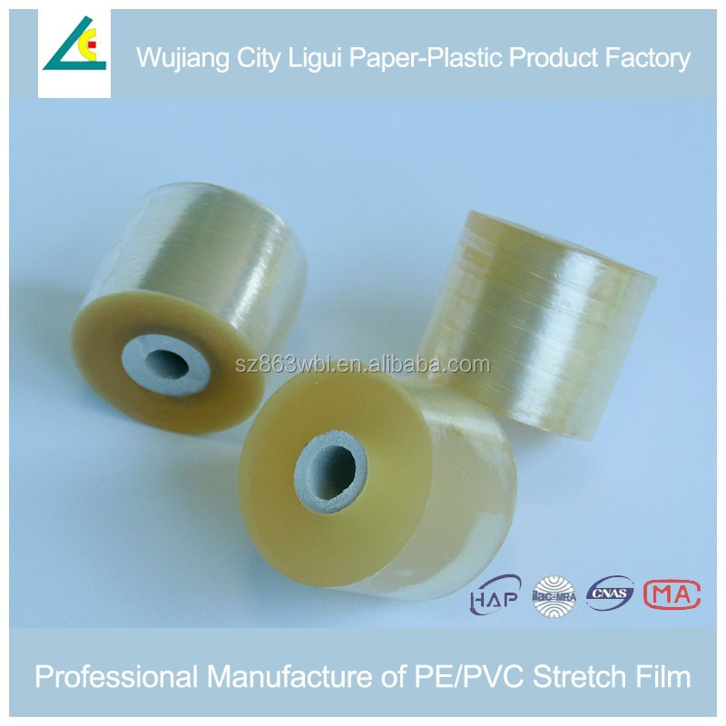 Super Clear PVC Soft Free Blue Film For Wires Cable