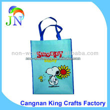 Cartoon Snoopy Mon woven Bags for Kids