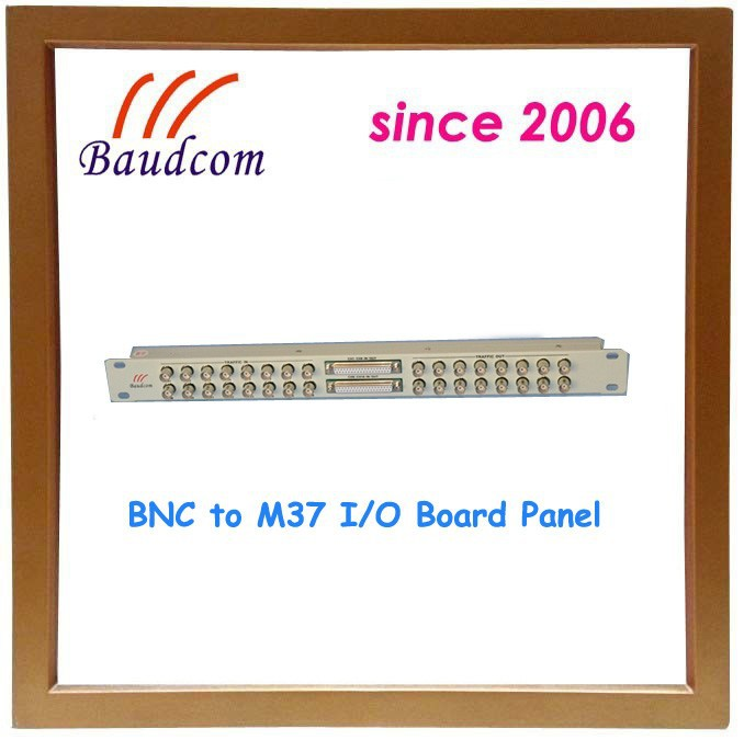 BNC to M37 I/<strong>O</strong> Board Panel