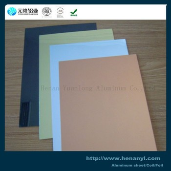 China 3xxx 1xxx Decorative Mirror Aluminum Sheet Fcatory in Zhengzhou
