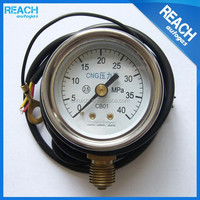 High Quality Stainless Steel Waterproof CNG Pressure Gauge CNG Pressure Sensor