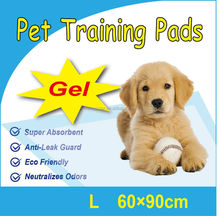 OEM 60*90cm Disposable Absorbent dog pee pad