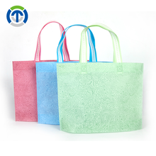 Tongxin Promotional Items China Flower Design Custom Logo Shopping Tote Eco-Friendly Bag