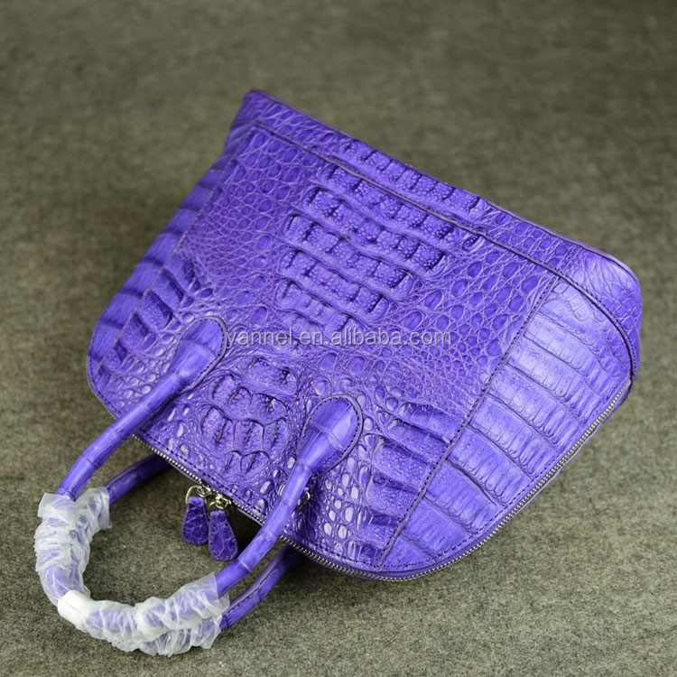 Alligator croco handbags crocodile bag lady handbag real leather