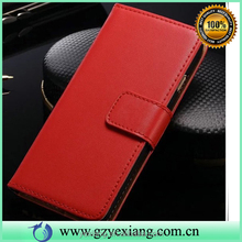 Superior quality card slot flip leather case for iphone 5c pu leather cover
