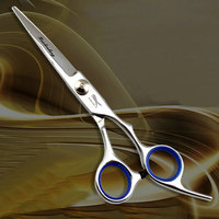 K61 hair scissors with curved blade Hair cutting scissors