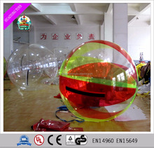 Inflatable beach ball suit water ball roll inside inflatable ball