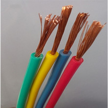 PVC coated copper core stranded electric wire cable roll