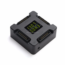 4-In-1 Battery Rapid Charging Charger Hub For DJI Mavic Pro Accessories With LCD Display 8A