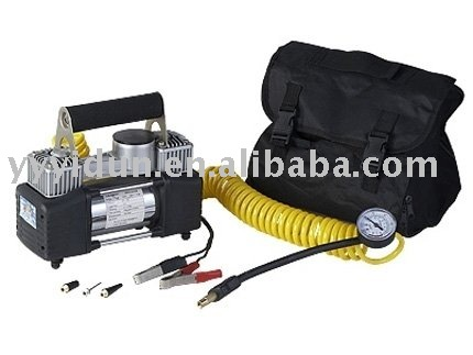 portable DC 12V auto air compressor