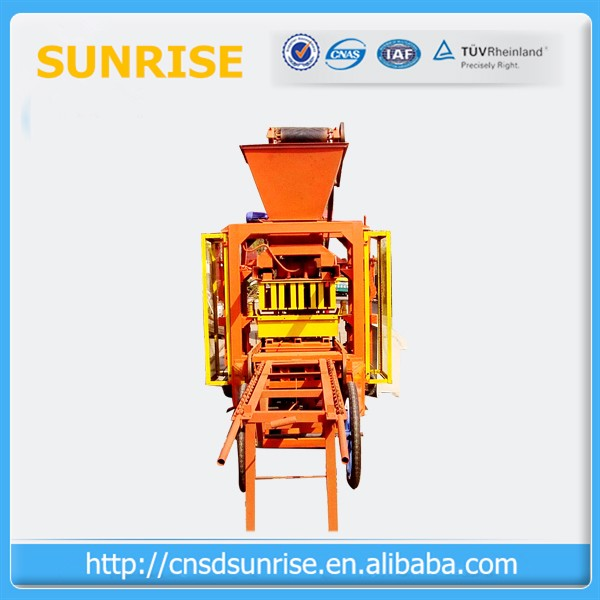 paver machine for road construction