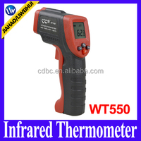 Portable Handheld Infrared Thermometer China Manufacturer With Laser Sensor Accuracy IR Gun WT550