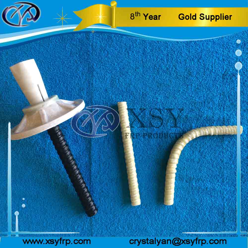 High Corrosion Resistance Plastic Expoxy Rock Bolt For Coal Mining