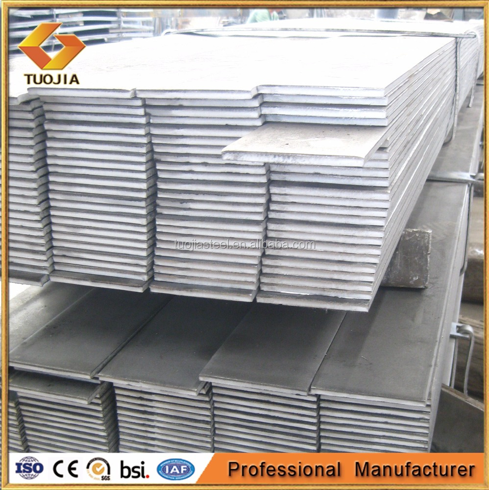 2017 Best price Q345B SM490 S355JR ASTM A572 Hot Rolled Steel Flat Bar, flat steel, flat bars