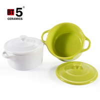 Hot sale new design casserole nice quality ceramic kitchenware for cooking