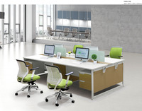 Elegant and Useful Wooden Office Desk/Workstation for 4 person
