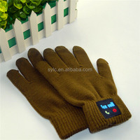 Touch screen bluetooth gloves electronic gift items