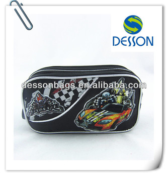 2013 Arriaval Children pencil case for boy- racing car