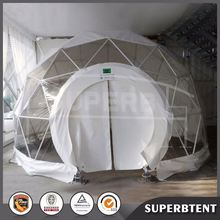 high quality fashion design transparent covers geodesic dome tent