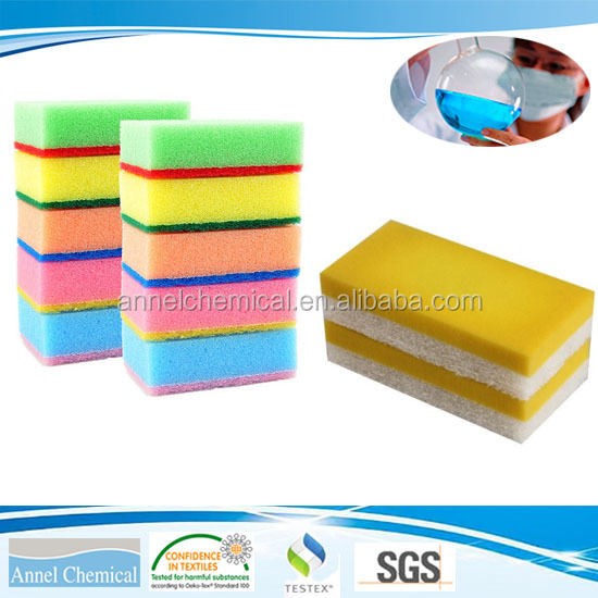 Solvent-free Adhesive/Glue NEL-100 for bonding sourcing pad to foam, cleaning ball and viscose sponge