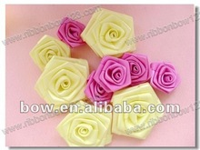 Ribbon artificial rose flowers decoration