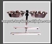 Stainless Steel Pet Coop Cups With Nut Clamps