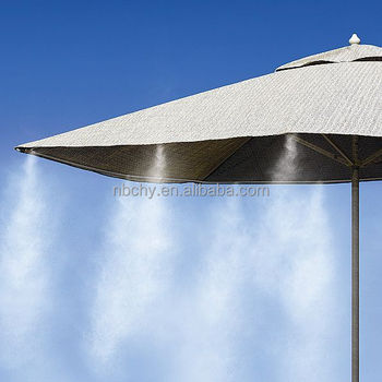 Low Pressure Outdoor Garden Patio Misting Cooling System With Mist Nozzle Kit