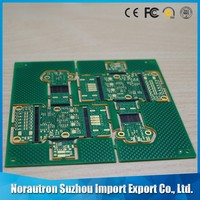 Custom oem High Precision 1.6mm green solder mask vamo v7 pcb
