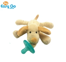 2017 Infant Pacifier Plush Animal Pacifier