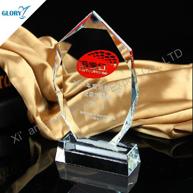 New Design Clear K9 Crystal Trophy Iceberg Award