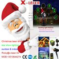 outdoor christmas projector laser ligth show waterproof IP65 with RF-remote control