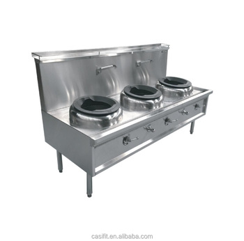AGA standard commercial chinese waterless gas wok burner customized available for sale