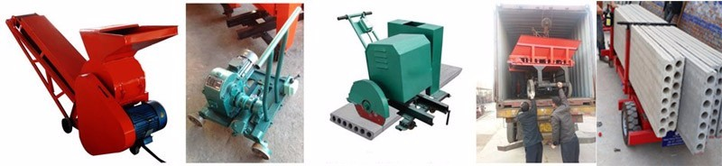 Advanced concrete hollow core slab extruder with low price