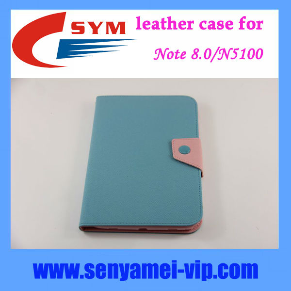 "For samsung N5100 case,8.0"" tablet cover for samsung note 8.0 case cover"