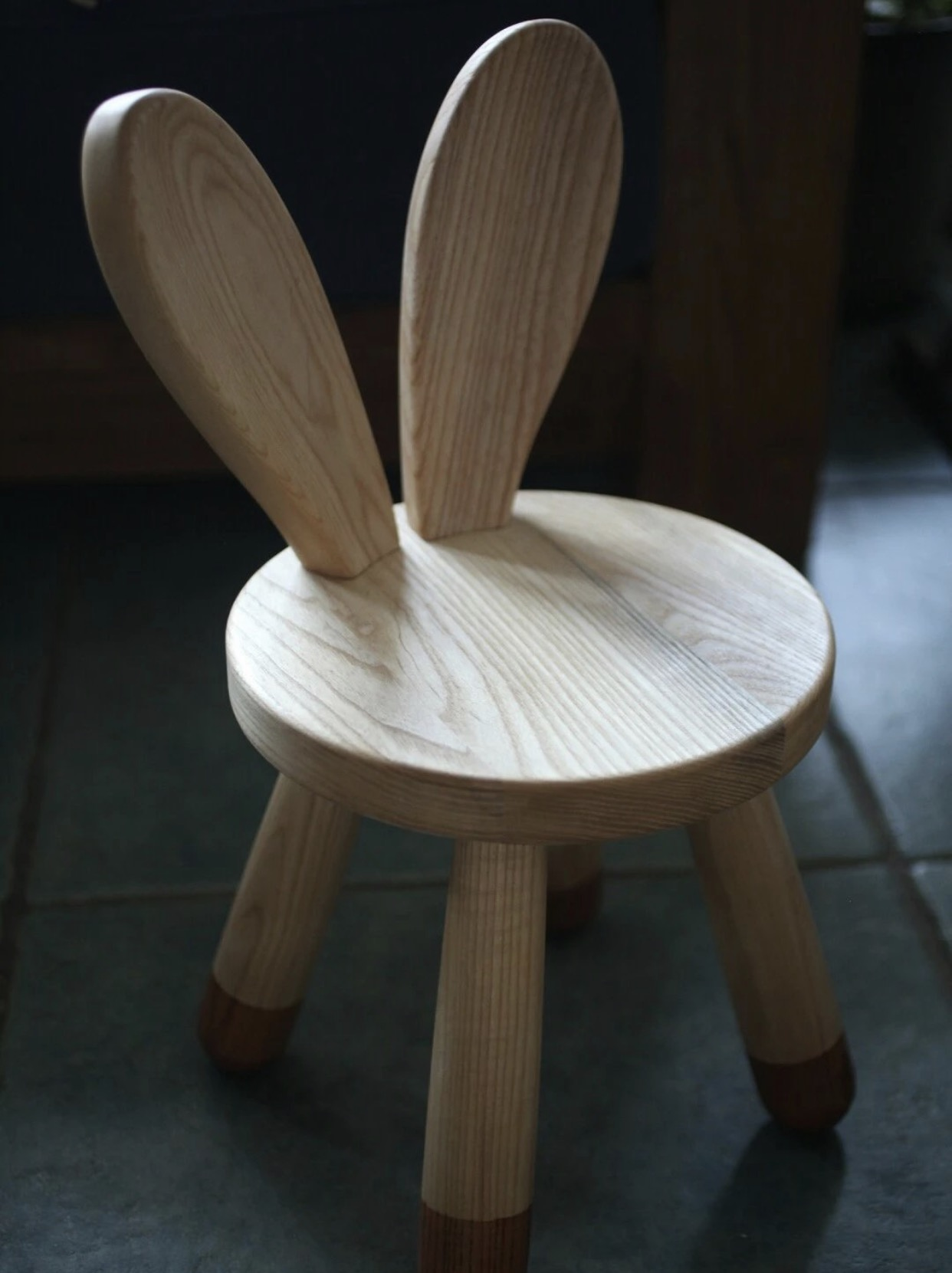 Top Quality Children Animal Wood Chair Real Wood Table Chair for Kids