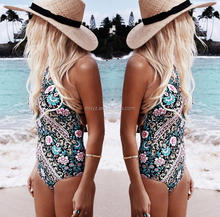 L0336A Women wholesale cheap swimwear high cut design swimwear one piece women