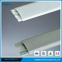 Haitai Low Price Plastic Wiring Duct PVC Cable Duct Solid Wire Ducts