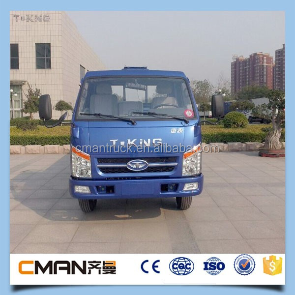 China famous brand T-king single cabin 4x2 1.5ton mini truck diesel for sale