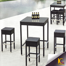 2015 Creative Outdoor 3 Seater Wicker elegent dining table and chair set