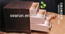 Exquisite Classic wooden tea caddy wholesale, Ark of the tea, wooden tea caddy
