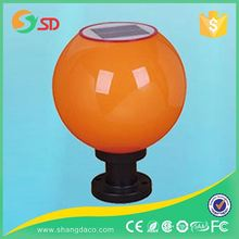 2016 New Stainless Steel Ball Lampada Solar Luminaria Garden Light Company Collection