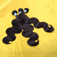 Best quality body wave unprocessed wholesale 100% virgin brazilian hair