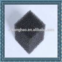 High density black electronic industry filter sponge